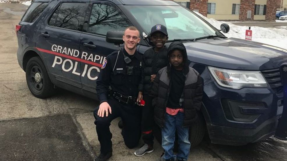 Prime Michigan Officers Drive 9 Year Old Boy To School Surprise Him Funny Birthday Cards Online Inifofree Goldxyz