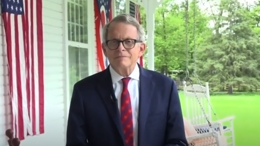 Gov Dewine Tests Negative For Covid 19 After Initial Positive Test Wsyx