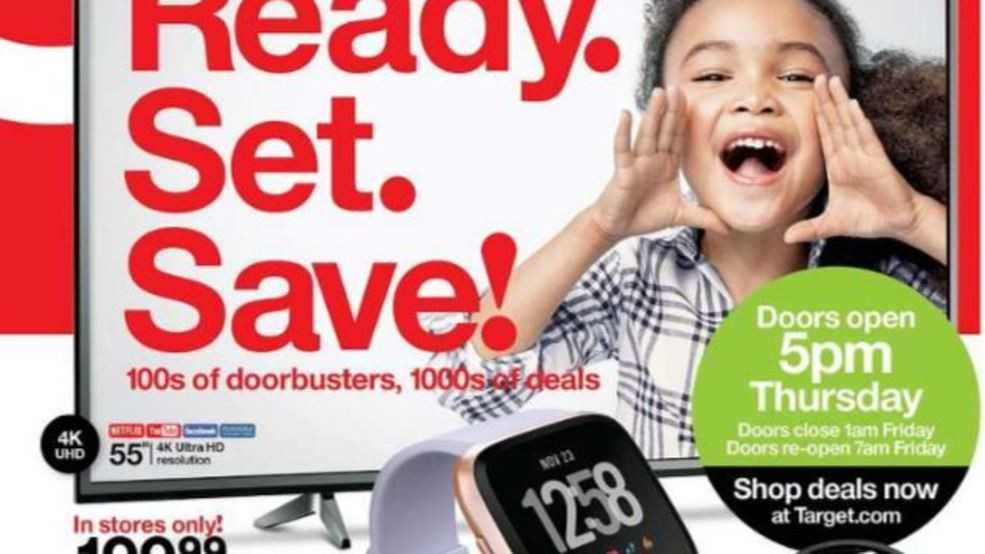 Walmart Target Best Buy Release Black Friday Sales Ad Wsyx