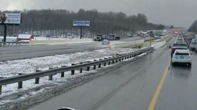 Highway Patrol: 81 vehicles involved in crash on I-71 in