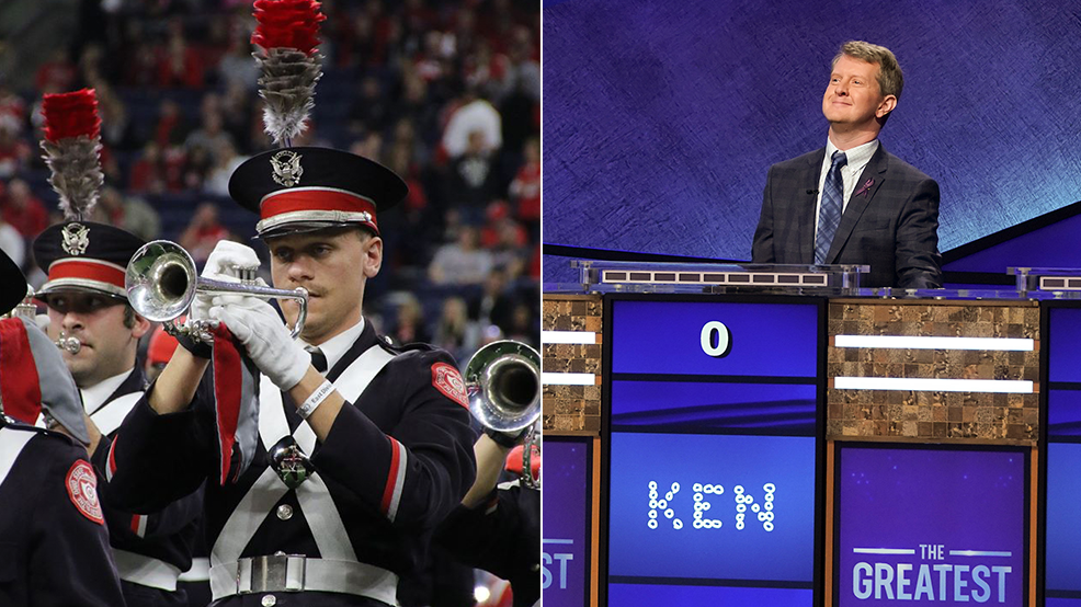 Jeopardy! Goat >> Jeopardy Goat Ken Jennings Says Ohio State S Marching Band