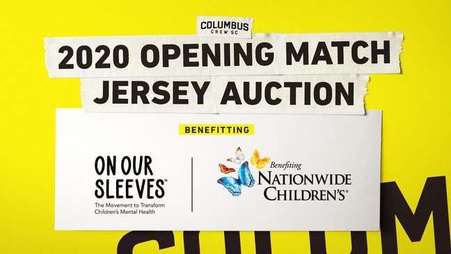 Crew Sc To Auction Off Match Worn Player Jerseys To Benefit Nationwide Children S Hospital Wsyx
