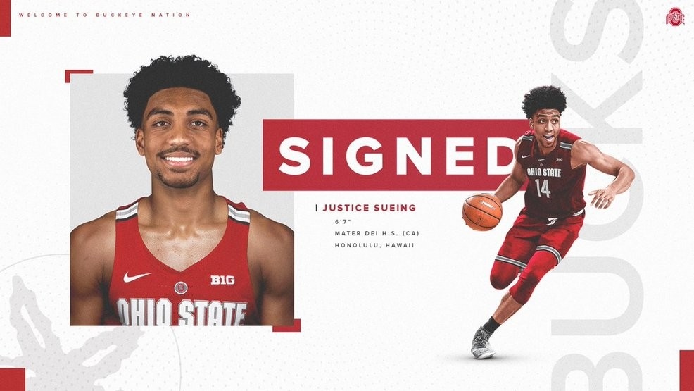 Ohio State Basketball Announces Justice Sueing Has