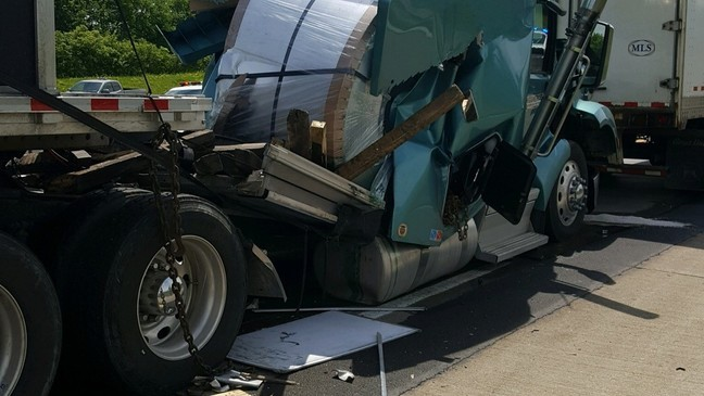 I-70 in Madison County reopened after crash involving