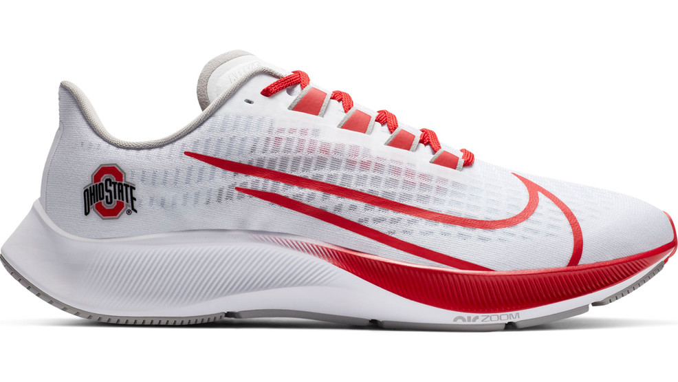 new Ohio State colored running shoes