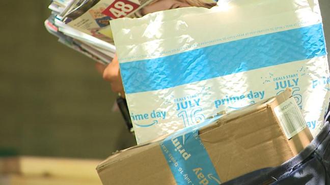 coronavirus in packages