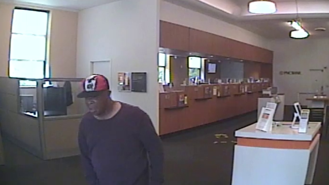 Bexley Police searching for man accused of robbing PNC Bank