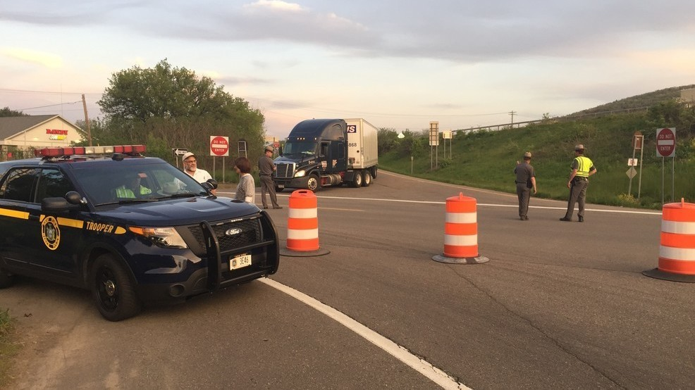 According to State Police Major Rick Allen, there were no