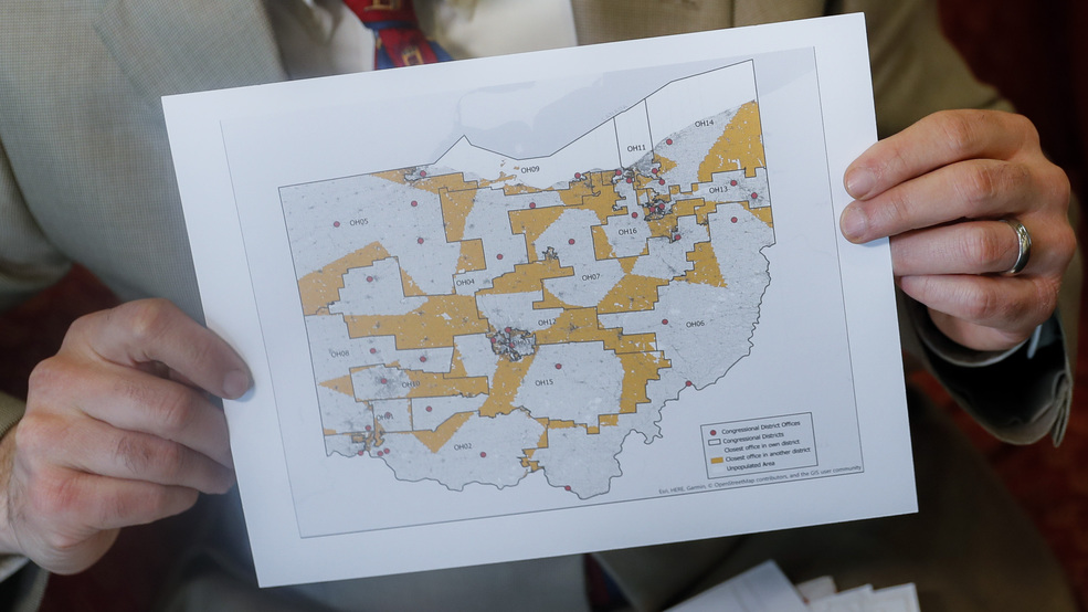 Ohio Asks Us Supreme Court To Stop Redrawing Of Congress Map Wsyx - Us-supreme-court-map