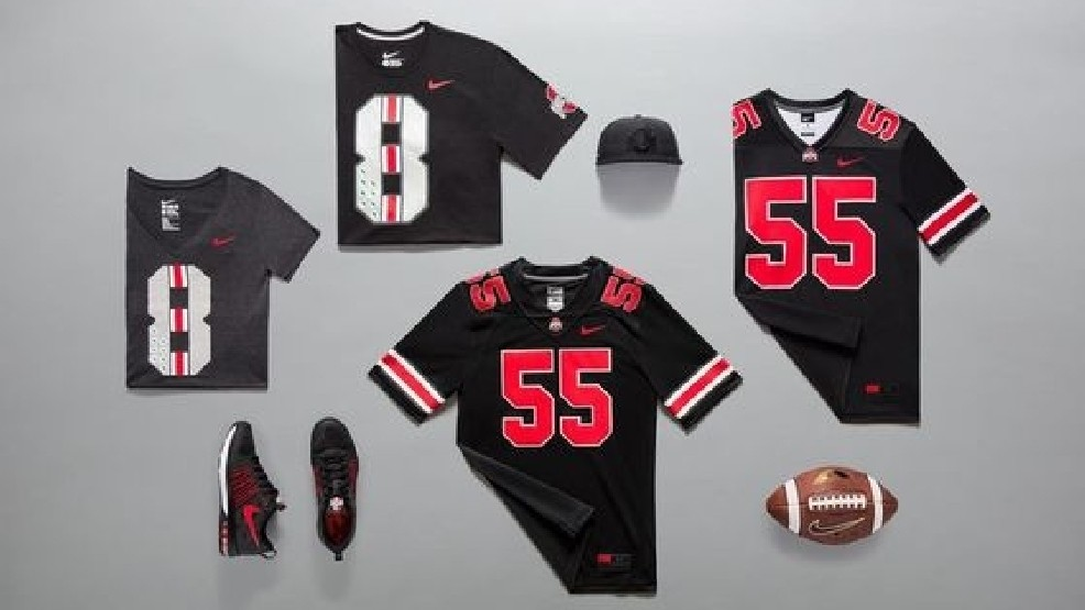 finest selection 4e543 668ce Nike Reveals First-Ever Black OSU Jerseys for Penn State ...