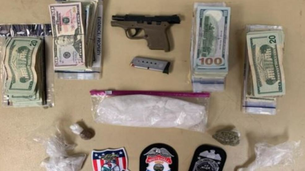Meth, fentanyl, and other drugs found, 5 people arrested