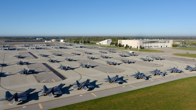 Air Force fighter jets relocating to Central Ohio ahead of