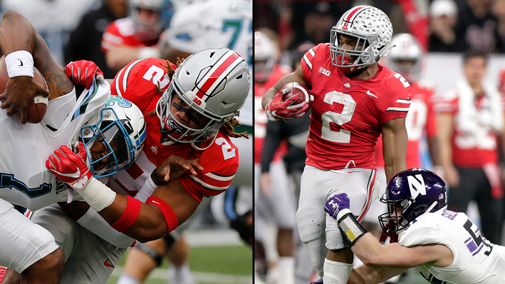 Ohio State S Chase Young J K Dobbins Named To Sporting