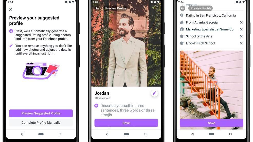Dating app con foto private