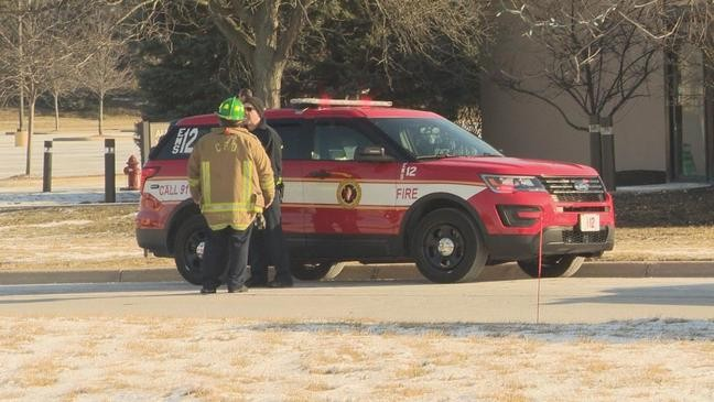Firefighters retrieve man from pond after he ran away from