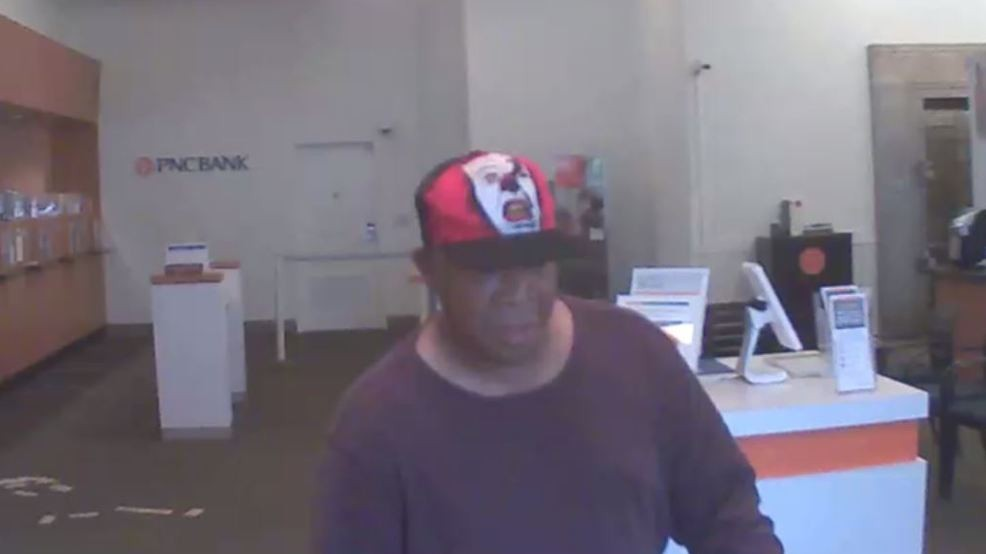 Bexley Police searching for man accused of robbing PNC Bank | WSYX