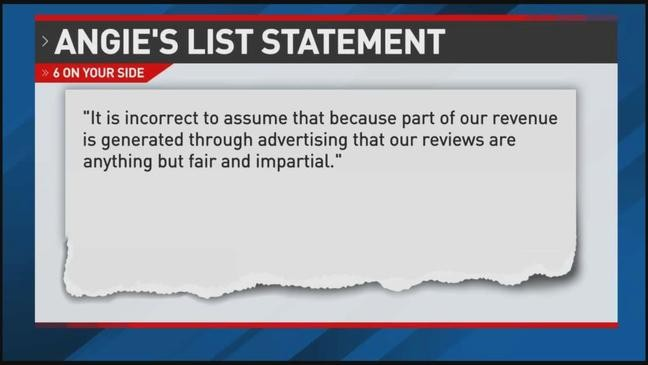 Consumer group says Angie's List is useful, but has biased