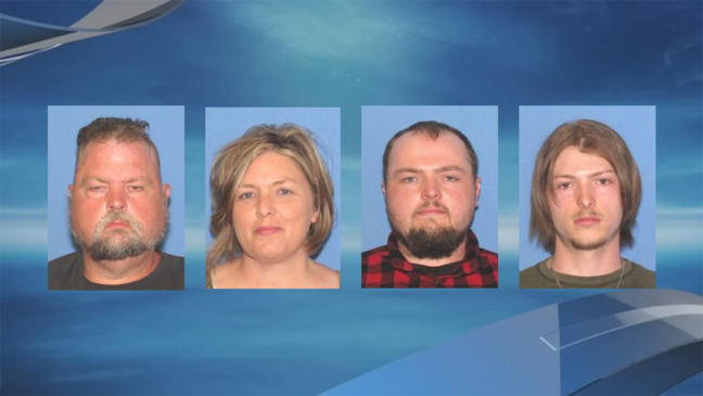 Family arrested for murders of 8 Rhoden family members in