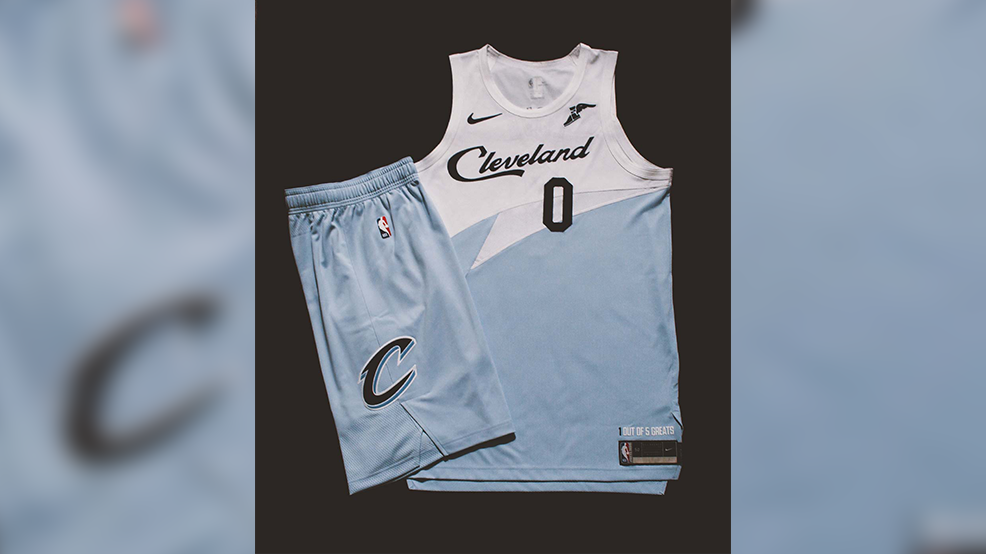 san francisco 17eb7 b5b85 New Cleveland Cavaliers 'Earned Edition' jerseys have ...